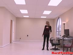 Office bdsm sub deepthroats maledoms bbc