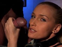 Hot pornstar femdom and cum in pussy