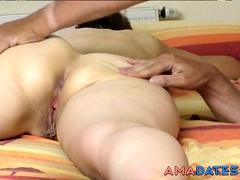 Big butt massage and pussy massage 3