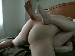 YOUNG AUSSIE BABE GETS FUCKED AND SUCKS COCK IN A HOTEL ROOM