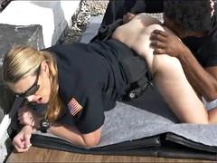 A big black dick for white female cops