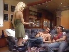 Nikki Blond Double penetration