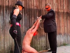 Naughty femdom-goddess humiliates