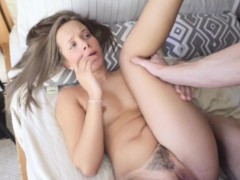 Teen babe gets pounded
