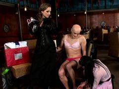 Bondage discipline sadomasochisme, Bruinharig, Dominante vrouw, Fetisj, Ondergoed