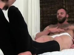 Soldiers feet gay fetish and gay socked hockey feet Derek Pa