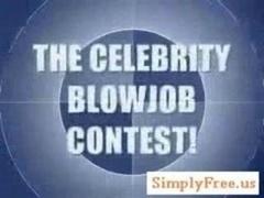 Peerless Celebrity Cock sucking