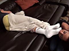 Danica worships hot   feet