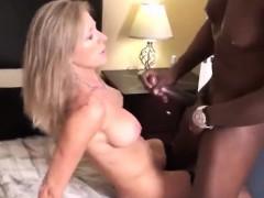 Blonde Milf And A BBC Amateur Porn