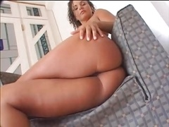 White Girl With Her Tight Sizeable Bum Gets Fucked By Black Guy
