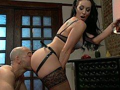 Sucking every pleasure from her wet basement