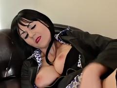 COSPLAY BABES Big tits cosplay girl fucking herself