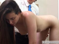 This glorious babe with flawless body gets her wet muff filled with a big shaft