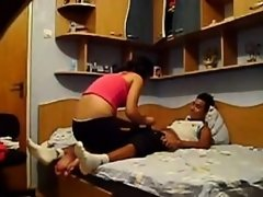 Indian girl sucking cock of her bf
