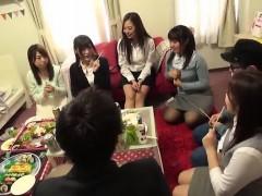 Amateur, Asiatique, Éjaculation interne, Groupe, Japonaise, Réalité