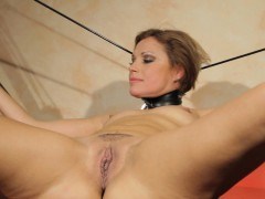 Euro sub fucked deeply and jizzed in mouth