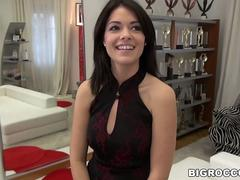 Rocco destroyes Ava Dalushs pussy
