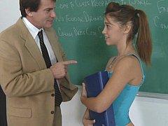 Collège université, Hard, Petite femme, Rousse roux, Élève, Maigrichonne, Étudiant, Adolescente
