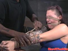 Bdsm NT submissive caned in maledoms dungeon