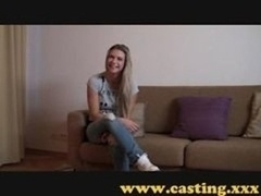 Casting - Pumped up Kitten Cums For Real