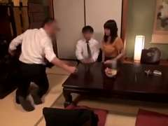 Jap wifey having lovemaking with buddy while spouse  02