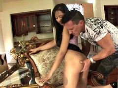 latina courtney page takes a huge cock