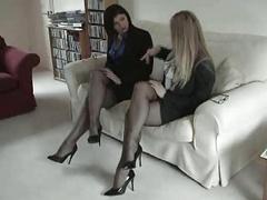 Black Totally Fashioned Nylon Stockings Leg and additionally Foot Fetish