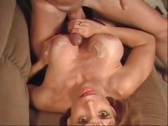 Cum On Twyla's Fake Tits