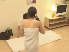 Stunning japanese massage