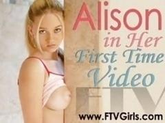 Alison Masturbates
