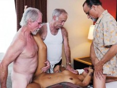 Gangbanged by old men