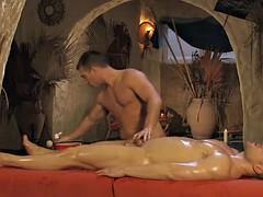 nice massage for her pleasure