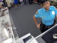 Big ass Latin police officer fucked hard