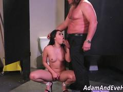 Squirt asian facialized