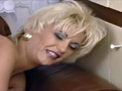 German Milf footjob sex