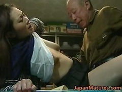 Japanese Sexually available mom enjoys hot sex part6