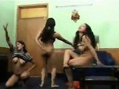 Naked Arabic women