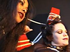 Lesbian vampire BDSM