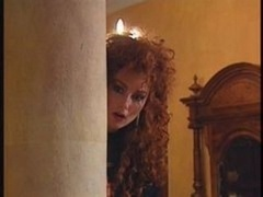 Swedish redhead and additionally Indian beauty in Vintage 90s porno