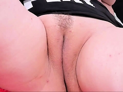 Fat bitch needs fat toys to fuck her fat fur pie
