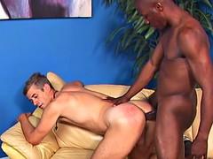 young black stud hammering a mature man