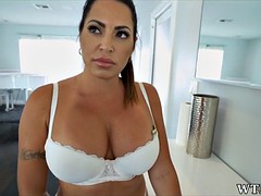 nice thick latina milf maid