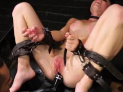 Bondage discipline sadomasochisme, Sperma shot, Fetisj, Hardcore, Hd, Billekoek, Speelgoed