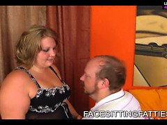 Bbw beautiful chick rails on poor dudes face 1 - bbw porno