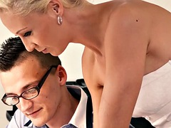 czech stepmother loves getting banged by stepson