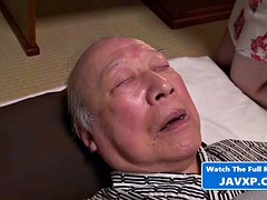 japanese housewife fucks grandfather