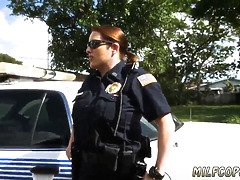 Cougar melons rectal casting first time dont be ebony and suspicious around black patrol cops