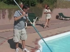 Soccer mom Seduces the Pool Boy - Cireman