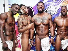 The Open Minded black studs of Paint and Sip