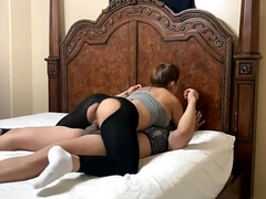 Big Butt Yoga Instructor Gets Fornicateed Through Her Yoga Pants